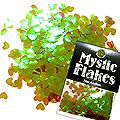 MysticFlakes カメレオンワインレッド ハート 0.5g