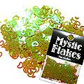 MysticFlakes カメレオンワインレッド ハート&ムーン 0.5g