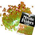 MysticFlakes カメレオンワインレッド フラワー 0.5g