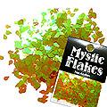 MysticFlakes カメレオンワインレッド ティアドロップ 0.5g