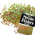 MysticFlakes カメレオンワインレッド ヘキサゴン 1mm 0.5g