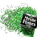 MysticFlakes カメレオンブルーグリーン サークル 1mm 0.5g