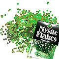 MysticFlakes カメレオンブルーグリーン サークル 2mm 0.5g