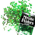 MysticFlakes カメレオンブルーグリーン スター 0.5g