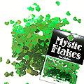 MysticFlakes カメレオンブルーグリーン ハート 0.5g