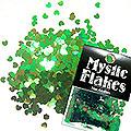 MysticFlakes カメレオンブルーグリーン ミニハート 0.5g