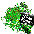 MysticFlakes カメレオンブルーグリーン ハート&ムーン 0.5g