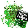 MysticFlakes カメレオンブルーグリーン フラワー 0.5g