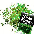 MysticFlakes カメレオンブルーグリーン ティアドロップ 0.5g