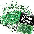 MysticFlakes カメレオンブルーグリーン ヘキサゴン 1mm 0.5g