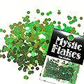 MysticFlakes カメレオンブルーグリーン ヘキサゴン 2.5mm 0.5g