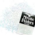 MysticFlakes カメレオンクリアブルー サークル 1mm 0.5g