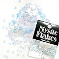 MysticFlakes カメレオンクリアブルー ハート 0.5g