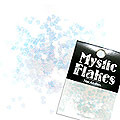 MysticFlakes カメレオンクリアブルー ミニハート 0.5g