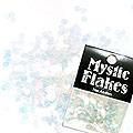 MysticFlakes カメレオンクリアブルー ヘキサゴン 2.5mm 0.5g