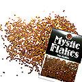 MysticFlakes カメレオンゴールドグリーン サークル 1mm 0.5g