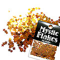 MysticFlakes カメレオンゴールドグリーン スター 0.5g