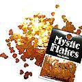 MysticFlakes カメレオンゴールドグリーン ハート 0.5g