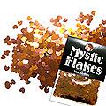 MysticFlakes カメレオンゴールドグリーン ミニハート 0.5g