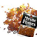 MysticFlakes カメレオンゴールドグリーン ハート&ムーン 0.5g