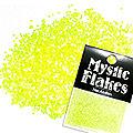 MysticFlakes ルミネイエロー サークル 1mm 0.5g