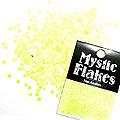 MysticFlakes ルミネイエロー サークル 2mm 0.5g