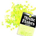 MysticFlakes ルミネイエロー ハート 0.5g