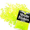 MysticFlakes ルミネイエロー ミニハート 0.5g