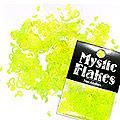 MysticFlakes ルミネイエロー ハート&ムーン 0.5g