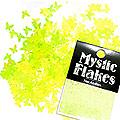 MysticFlakes ルミネイエロー バタフライ 0.5g