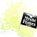 MysticFlakes ルミネイエロー ティアドロップ 0.5g
