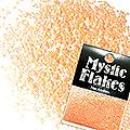 MysticFlakes ルミネオレンジ サークル 1mm 0.5g