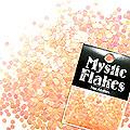 MysticFlakes ルミネオレンジ サークル 2mm 0.5g