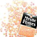 MysticFlakes ルミネオレンジ スター 0.5g