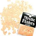 MysticFlakes ルミネオレンジ ハート 0.5g
