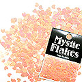 MysticFlakes ルミネオレンジ ミニハート 0.5g