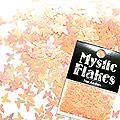 MysticFlakes ルミネオレンジ バタフライ 0.5g