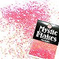 MysticFlakes ルミネピンク サークル 1mm 0.5g