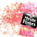 MysticFlakes ルミネピンク スター 0.5g