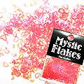 MysticFlakes ルミネピンク ハート&ムーン 0.5g