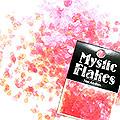 MysticFlakes ルミネピンク ティアドロップ 0.5g