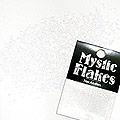 MysticFlakes パステルホワイト サークル 1mm 0.5g