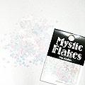 MysticFlakes パステルホワイト ミニハート 0.5g