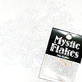 MysticFlakes パステルホワイト ハート&ムーン 0.5g