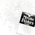 MysticFlakes パステルホワイト フラワー 0.5g