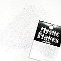 MysticFlakes パステルホワイト ヘキサゴン 1mm 0.5g
