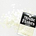 MysticFlakes パステルヴァイオレット ミニハート 0.5g