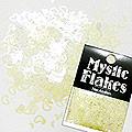 MysticFlakes パステルヴァイオレット ハート&ムーン 0.5g
