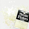 MysticFlakes パステルヴァイオレット ティアドロップ 0.5g