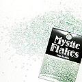 MysticFlakes パステルグリーン サークル 1mm 0.5g